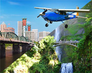 Scenic Plane Tour Portland, Downtown and Columbia River Gorge - 1 Hour 30 Minutes (Three People Fly for the Price of One!)