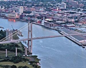 Helicopter Ride Savannah, Bridge Tour - 5 Minutes
