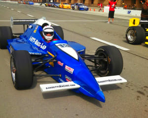 INDY-STYLE CAR Drive, 8 Minute Time Trial - Las Vegas Motor Speedway
