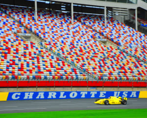 INDY-STYLE CAR Drive, 8 Minute Time Trial - Charlotte Motor Speedway