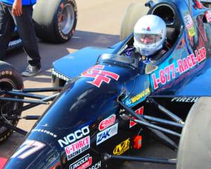 INDY-STYLE CAR Drive, 8 Minute Time Trial - Richmond International Raceway
