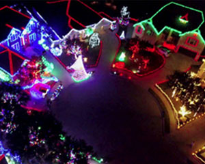 Helicopter Ride Oceanside Christmas Lights Tour - 30 Minute Flight (3rd Passenger Rides for Free!)