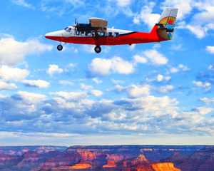 Scenic Canyon Flight and River Adventure - Full Day