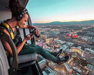 Las Vegas Doors Off Helicopter Photo Experience - 15 Minutes