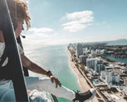 Miami Doors Off Helicopter Photo Experience - 30 Minutes