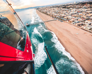 Private Helicopter Ride Carlsbad, Oceanside Pier Tour - 15 Minutes