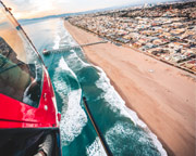 Private Helicopter Ride Oceanside, Harbor Tour - 15 Minutes