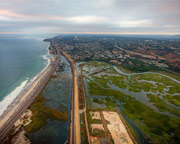 Private Helicopter Ride Oceanside, Lagoons and Downtown - 30 Minutes