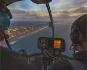 Private Night Helicopter Ride Oceanside, Carlsbad - 35 Minutes