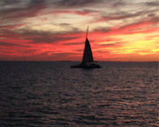Key West Sunset Sip and Sail - 2 Hours