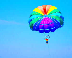 Key West Watersports Do-It-All Package - Parasail, Jet Ski, Snorkel, Windsurf and More! (6 Hours)
