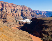 Helicopter Tour Grand Canyon, Floor Landing and Champagne Picnic - 4 Hours (Hotel Limousine Van Service Included)