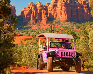 Jeep Tour Sedona, Ancient Ruins and Scenic Rim Tour - 3 Hours