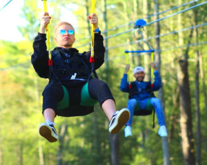 Foxwoods HighFlyer Zipline