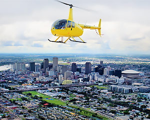 Helicopter Ride New Orleans, All Around Town Tour - 1 Hour