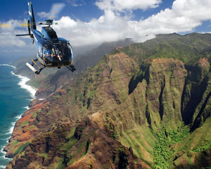 Helicopter Tour Kauai, Ultimate Adventure - 50 Minutes First-Class Seating (SPECIAL PRICE - BOOK BEFORE 8:30AM OR AFTER 2:00PM)