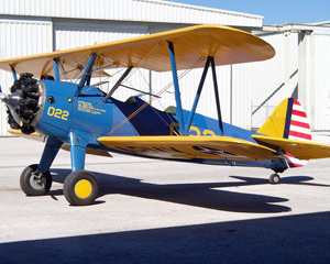Biplane Scenic Flight St. Petersburg and Tampa - 20 Minute Flight