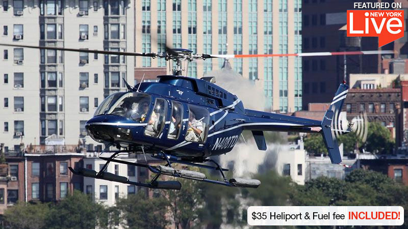 Helicopter Ride New York City 30 Minutes Adrenaline