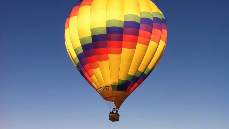Hot Air Balloon Ride Albuquerque Sunrise Rio Grande Flight 1 Hour Flight Adrenaline