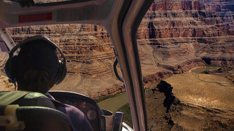 Grand Canyon Helicopter Tour with Landing, West Rim - 70 Minutes (FREE ROUND TRIP SHUTTLE FROM HOTEL!)