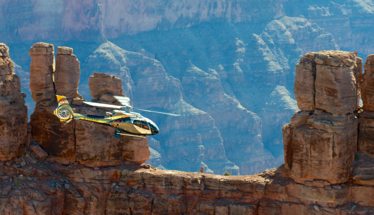 Grand Canyon Escape EC-130 Helicopter Tour - 2.5 Hours Hover