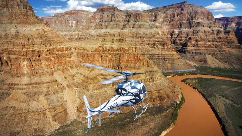 Grand Canyon West Rim Helicopter Tour Above And Below The