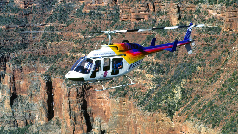 Helicopter and Hummer Tour Grand Canyon South Rim, North Canyon Heli Tour - 3 Hours