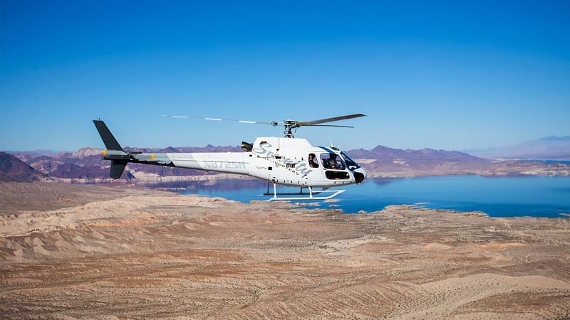 Helicopter ride grand canyon