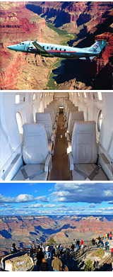 Grand Canyon Plane Tour, South Rim - 7.5 Hours
