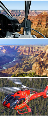 Helicopter Tour Grand Canyon South Rim, Eastern and Northern Rim - 45 Minutes