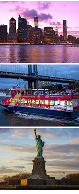 NYC Sightseeing Ferry Cruise, Twilight Tour