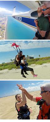 Skydive Galveston with Beach Landing - 14,000ft Jump