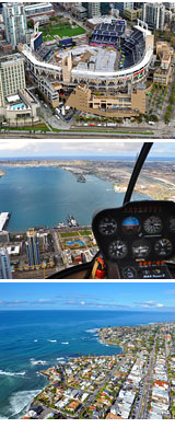 Helicopter Tour San Deigo map