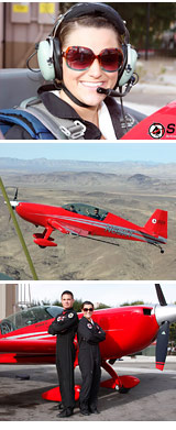 Aerobatic Flight Lesson Las Vegas