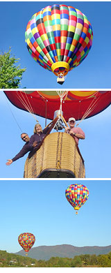 Hot Air Balloon Ride Asheville, Private Basket - 1 Hour Flight