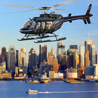 Enjoy views of the Big Apple in first class style, while sitting in the passenger seat of a helicopter high above the city's magnificent skyline. Cruise by all the city's hot spots and landmarks.