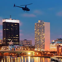 Discover iconic Philadelphia on a 5-star helicopter ride. Every seat is a window seat so you get first-class views of the skyline, Penn's Landing, Benjamin Franklin Bridge and more. Philadelphia deserves to be seen by helicopter!