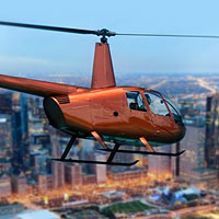 Enjoy views of the second city in first class style, while sitting in the passenger seat of a helicopter high above the city's magnificent skyline. Cruise by all the city's hot spots and landmarks.