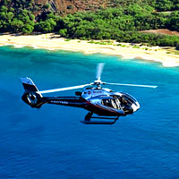 Experience a stunning 5-star helicopter tour above Maui! On this sightseeing adventure you will soar by active volcanos, beautiful waterfalls and so much more of Maui's abundant natural scenery.