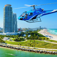 Experience a glamorous 5-star helicopter ride above Miami! Discover hidden wonders, catch a glimpse of millionaire mansions and soar by world-class beaches. A helicopter tour is the best way to take in Miami!