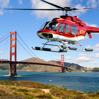 Fly with the most trusted helicopter tour company in San Francisco. With over 40 years of flying experience you are sure to have an experience that you will never forget. You will see it all on this incredible tour! Alcatraz, The Golden Gate Bridge, Fisherman's Wharf, Downtown and much more all from above!