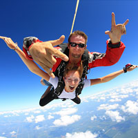 Many people ask 'what is skydiving all about?' and 'Why would anyone want to jump out of a perfectly good aeroplane?!' Why? Because Skydiving is the adventure of a lifetime!