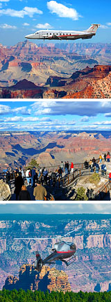 Grand Canyon Plane, Helicopter and Ground Tour