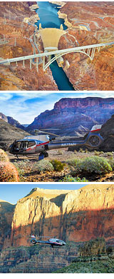 Grand Canyon Helicopter Ride with Champagne Landing