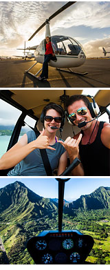 Helicopter Ride Honolulu, Royal Crown of Oahu - 60 Minutes