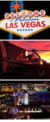 Helicopter Ride Las Vegas Strip - VIP Night Tour