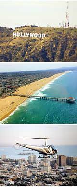 Helicopter Ride Los Angeles, Ultimate Tour - 45 Minutes