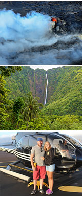 Helicopter Tour Big Island, Kilauea Volcano Deluxe
