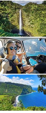 Helicopter Tour Big Island, Kohala Mountains and Hamakua Waterfalls