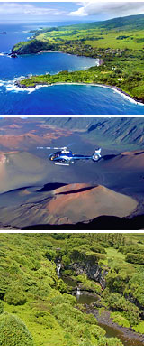 Helicopter Tour Maui, Hana and Haleakala